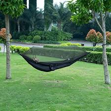 amazon com isyoung hammock with mosquito net parachute fabric