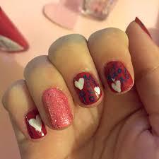 xoxo valentine u0027s nail art u2022 katie crafts