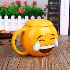 delightful emoji mug with lid u2013 instyle home decor