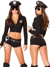 swat officer halloween costumes for women