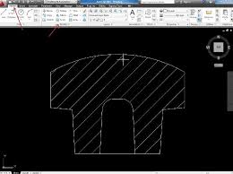 tutorial autocad hatch autocad design simple tutorial edit hatch pattern