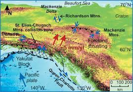 Yukon River Map Earthquakes And Seismic Hazard In The Yukon Beaufort Mackenzie