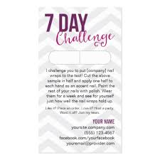 Jamberry Sample Cards 7 Day Jamberry Challenge Card Related Keywords U0026 Suggestions 7
