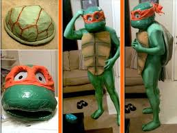 April Neil Halloween Costume Teenage Mutant Ninja Turtles Trifecta Michelangelo Tmnt Foot