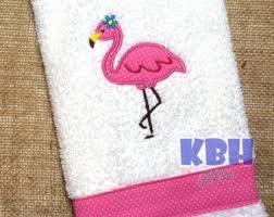 Flamingo Bathroom Flamingo Bathroom Etsy