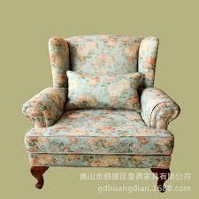 village cloth sofa living room bedroom high back sofa chair
