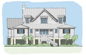 design house plan coastal cottage house plans flatfish island designs coastal