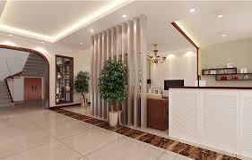 living room partition villa hallway and living room partition interior design