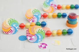 Gumball Party Favors Diy Washi Tape Party Favors