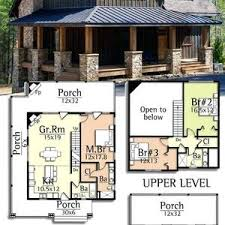 vacation cabin plans house vacation plans small two bedroom waterfront modern simple
