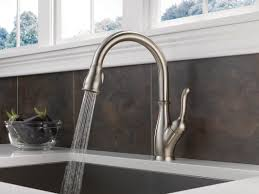 delta leland single handle pull down standard kitchen faucet