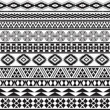 aztec design black und white hintergrundbilder fotos black und