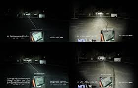 jeep light bar at night mtn litebar