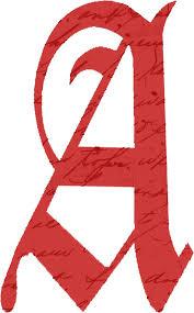 scarlet letter clipart clipartxtras
