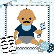 little man mustache baby shower instant download pin the mustache baby shower game mustache