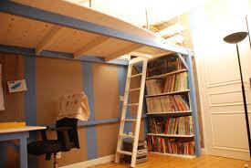 chambre mezzanine mezzanine sur mesure pour une chambre d adolescent atelier