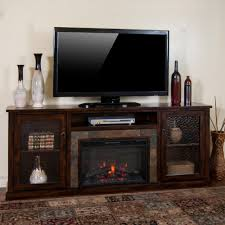 sunny designs santa fe 80 in electric fireplace media console