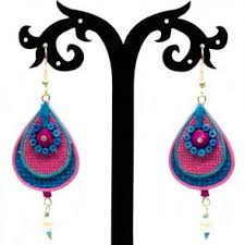 jute earrings handmade jewelry jewelry beadsobling