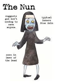 day of the dead zombie halloween mask nun zombie u2013 surviving the dead