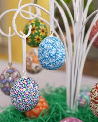 Easter Egg Decorations Martha Stewart by Polymer Clay Easter Eggs U0026 Video Martha Stewart