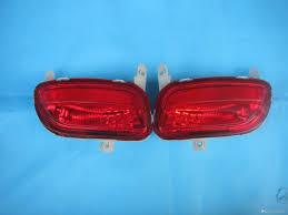best mazda model body parts rear bumper fog lamps bumper reflector lights for