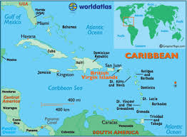 map of bvi and usvi map of islands caribbean island maps