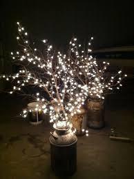 lighted tree branches 10 diy manzanita centerpieces wedding lighted tree