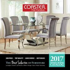 kitchen furniture catalog 2017 coaster dining catalog by seaboard bedding and furntiure issuu