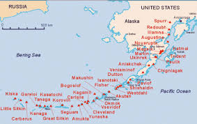map of aleutian islands tribes aleutian pribilof islands association