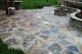 Rock Patio Design Flagstone Patio Pavers Crafts Home