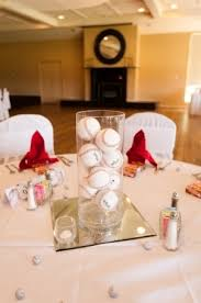 baseball centerpieces baseball wedding centerpieces wedding centerpieces designs and ideas
