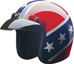 Rebel Flag Gear Amazon Com Hci Rebel Dot Motorcycle Helmet 10 015 Clothing