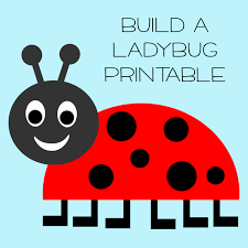 5 best images of free printable ladybug templates free printable