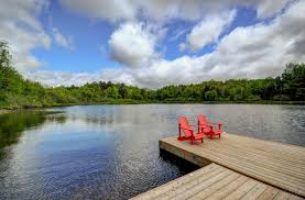 tranquil waters lake of bays boasts awe inspiring views of the