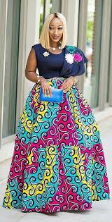 ghana chitenge dresses african print long skirt african fashion ankara kitenge african