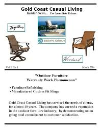 Coast Outdoor Furniture by Outdoor Furniture Gold Coast Casual Living