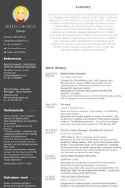 Sample Resume Nz by Relationship Manager Resume Samples Visualcv Resume Samples Database