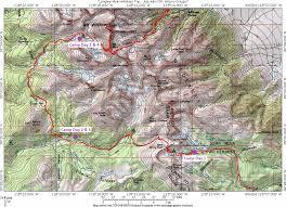San Francisco Parking Permit Map by Hiking Mt Whitney Via Cottonwood Pass U2013 Xi Er D U2013 Medium