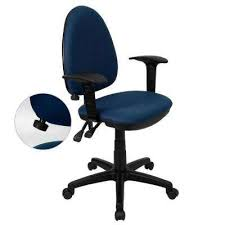 blue office chairs home office furniture the home depot