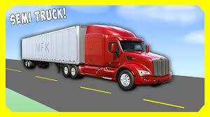 semi truck for kids by machines for kids trucks for children