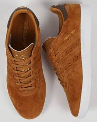 adidas 350 trainers tan brown shoes originals mens