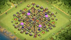 layout vila nivel 9 clash of clans 10 layouts de farme push guerra 2017