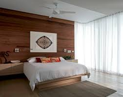 contemporary bedroom wallpaper home design