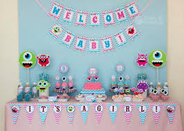 monsters inc baby shower decorations baby shower best baby decoration