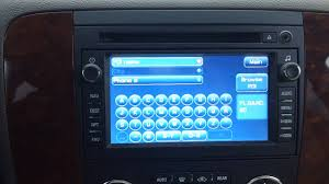 how to use the gm navigation tahoe suburban avalanche