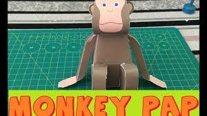 easy monkey paper craft cute u0026 easy easter diys paper animals
