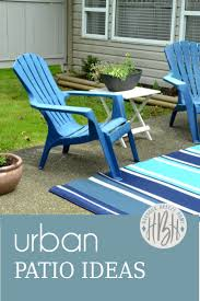 Urban Patio Ideas by Urban Patio Styling Before U0026 In Process Harbour Breeze Home