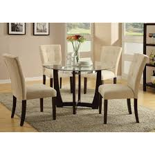 Baldwin Side Chair In Microfiber  Walnut Set Of  Multiple - Baldwin furniture