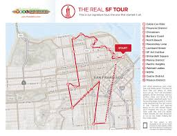 Map Of Chinatown San Francisco by The Real Sf Tour