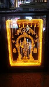 lord venkateswara photo frames with lights and music led photo frame light religious frame manufacturer from coimbatore